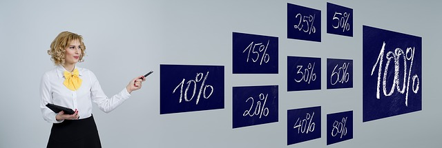žena a procenta