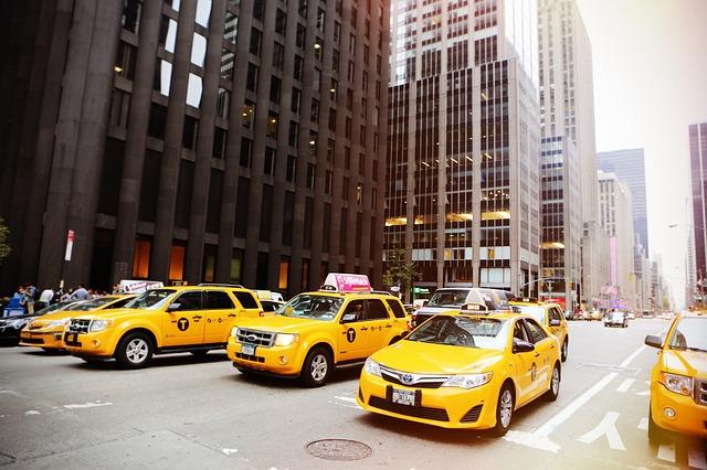 taxíky v new yorku