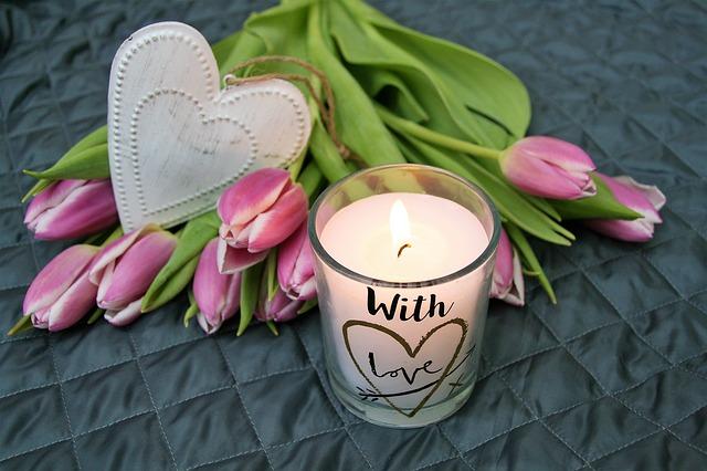 dekorativní svíčka
