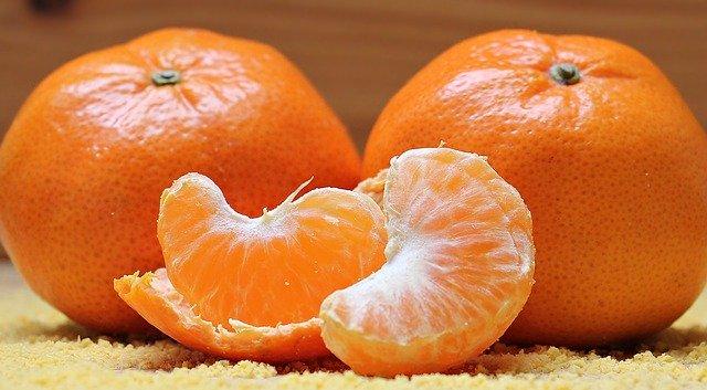 dvě mandarinky